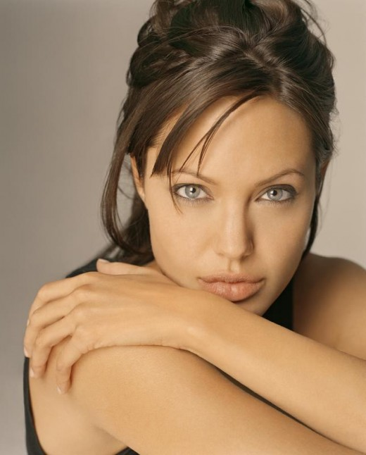 Angelina Jolie surpasses pretty and enters the realms of the beautiful