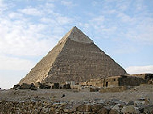 Pyramid of Khafre at Giza