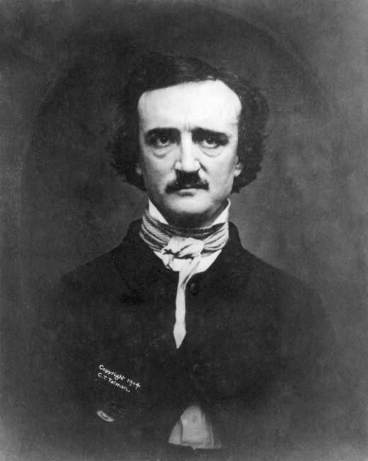 1848 daguerreotype of Edgar Allan Poe