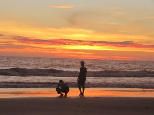 Sunset at Juanchaco