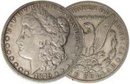 The 1889 CC Morgan Silver Dollar is the prime coin in the entire Morgan Silver Dollar series.