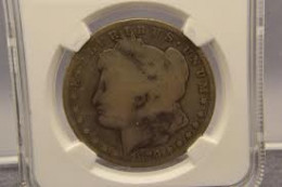 Even though this 1889 CC Morgan SIlver Dollar has seen better days, it is still worth a few hundred dollars.