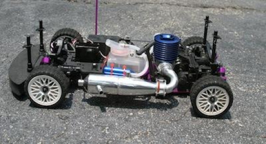 Nitro powered remote control cars can be purchased online, at a hobby shop, or used (usually found in online classifieds).