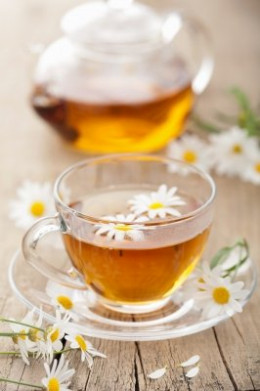 Herbal teas are known to have a soothing and calming effect.
