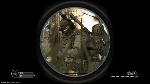 Your situational awareness determines whether you are the one behind the scope or in front of it. You choose.
