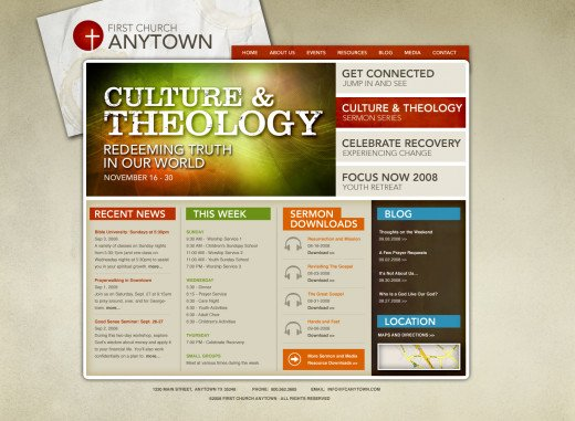 back-linking your church website (or business website)