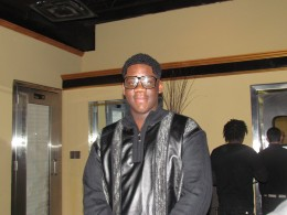 """Performer Sincere, was also present as he sang his hits, """"I'm No Lady Chaser"""" and """"Big Shout to the DJ."""""""