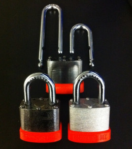 Black Chrome enhances the look of a quality padlock while Zinc is a proven work horse in the field.