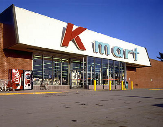 """Attention Kmart shoppers!....Hello?....Anyone?"""