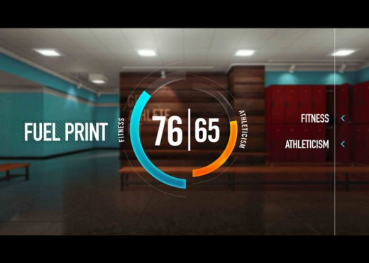 Nike Fuel Print