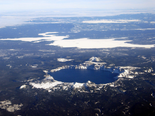 example of a volcanic crater lake