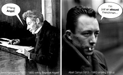 ABSURDISM AND REBELLION: KIERKEGAARD AND CAMUS