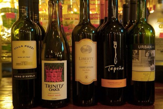 Chef Mo has a great weekly wine special, $10 off every bottle on the list Monday, Tuesday and Wednesday.