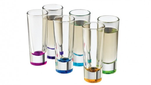 Libbey Troyano Colors Shot Glass