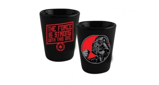 Star Wars Shot Glasses - Darth Vader - The Force Is Strong With This One