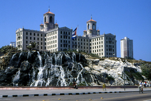 Henryk Kotowski photographed the Hotel Nacional in Havana, Cuba on January 31, 2007.