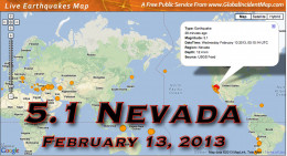 The large earthquake on the Nevada/California border only reemphasizes the increase in tectonic plate movement.
