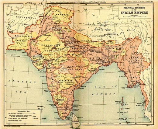 The British Indian Empire