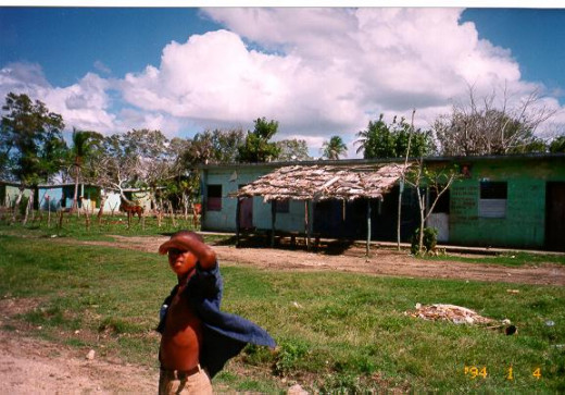 Houses in a batey—company town where sugar workers live—were photographed by Ryan McKemzie.
