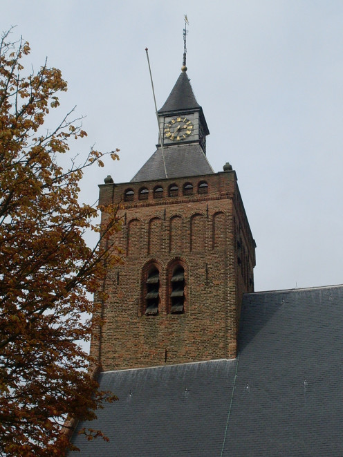 Tower of the Grote Kerk, Leerdam