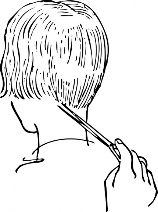An exposed neck means you will get hair particles on your skin during a haircut, resulting in an uncontrollable itch.
