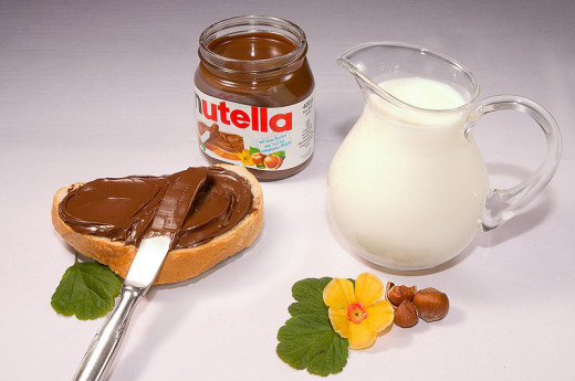 Nutella is rich in calcium and iron.