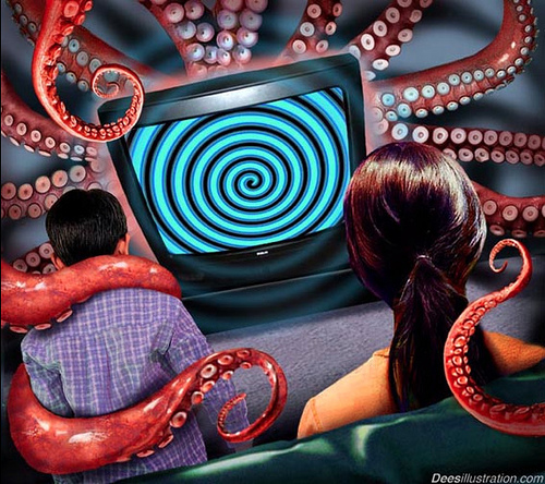 TV is controlling your mind from SurvivalBros.com Source: flickr.com