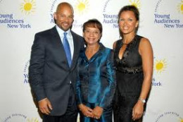 To Vanessa Williams, FAMILY is ALL and EVERYTHING. Vanessa with her mother, Helen and her brother, Christopher, an actor.