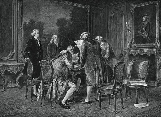 The Treaty of Paris in 1783 saw Britain finally acknowledge birth of the United States as a country in its own right, thus vindicating the 1776 American declaration.