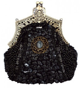 Antique Victorian Handbag