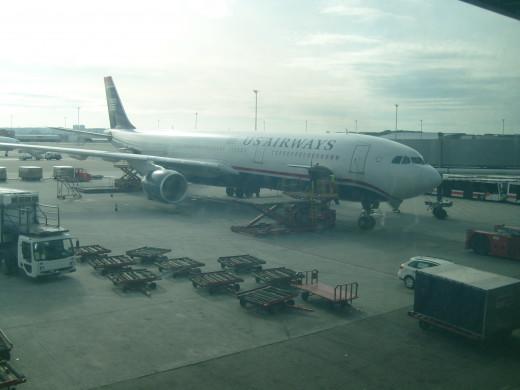 US Airways' Airbus 330
