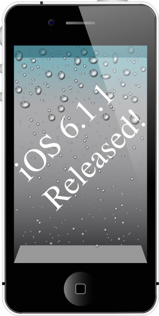 iOS 6.1.1 was released for the iPhone 4S by Apple on February 11, 2013, and carries primarily a fix to a major bug that was introduced in iOS 6.1.