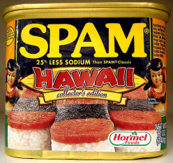 Hawaii Spam label 2003 Collector's Edition
