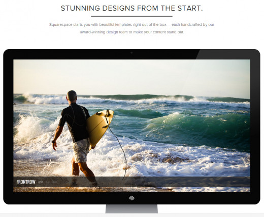 Squarespace is great for Business and Portfolios
