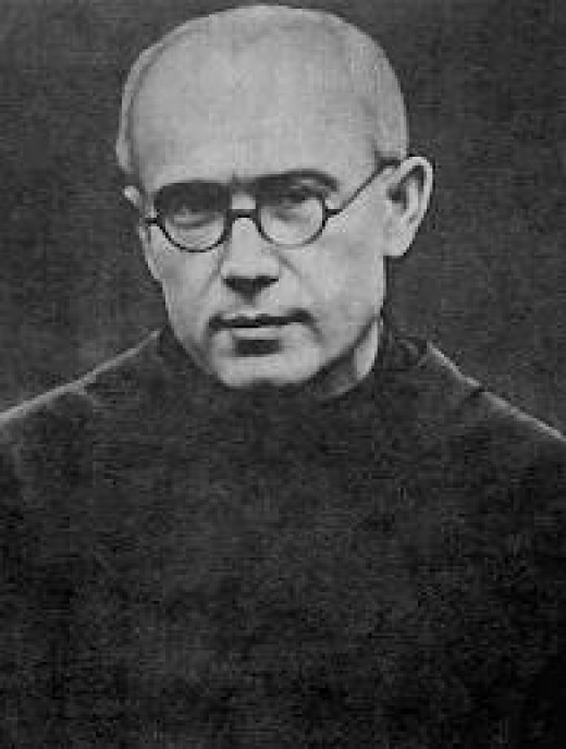 Maximilian Kolbe, a Roman Catholic priest who was imprisoned at Auschwitz gave up his life to save another  inmate who had children.