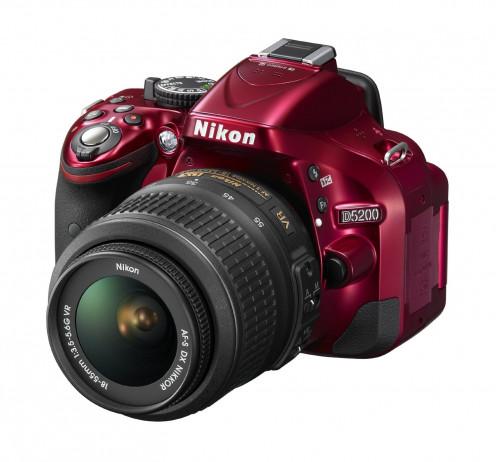 D5200 Nikon - Red