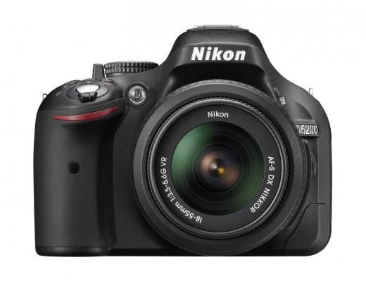 Black D5200 Nikon