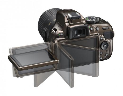 Bronze D5200 - Vari-angle LCD monitor