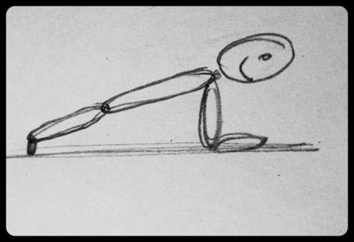 Basic planking stance