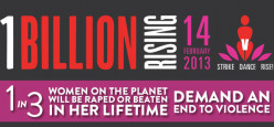 ONE BILLION RISING: I rise for the voiceless, the undervalued and the victimized