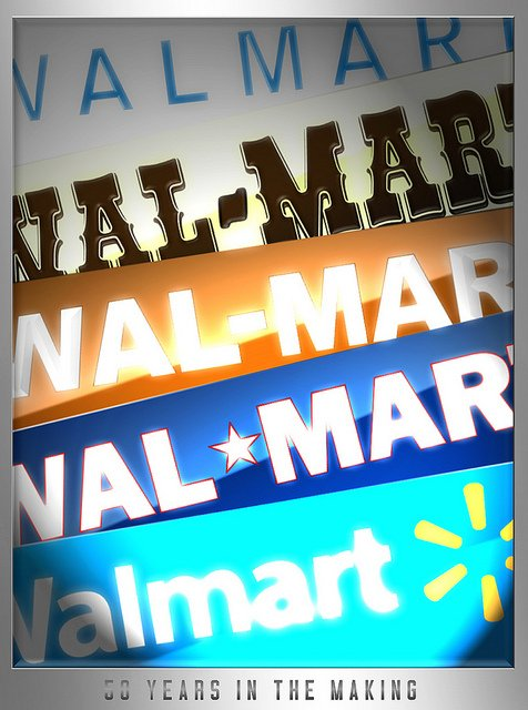 Walmart have a policy that under no circumstances can an employee accept a gift from a vendor.