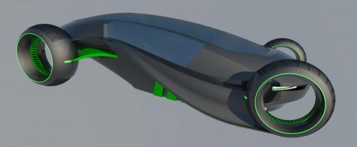 Future car concept.