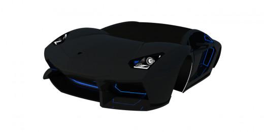 Lamborghini-inspired concept.