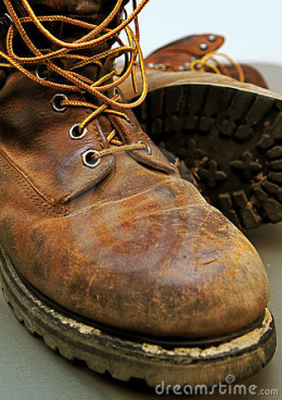 Dad's Work Boots