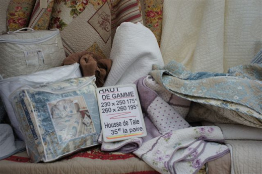 Bedspreads, quilts and pillowcases