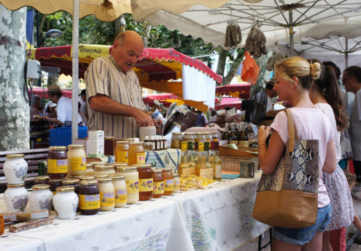 There are fabulous markets all across  the French Riviera