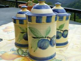 Provençal storage jars