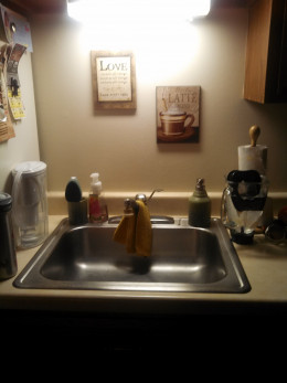 A clean sink is my love language!