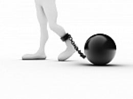 ball and chains imposed by religious fanatics