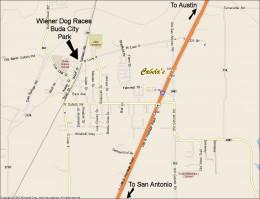 Buda TX City Park Map